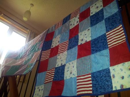 boy's quilt
