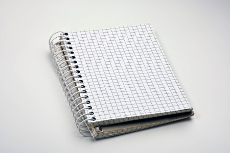 This is not the evil notebook in question, but is here as an illustration.