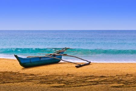 Fisherman's Canoe on Beach