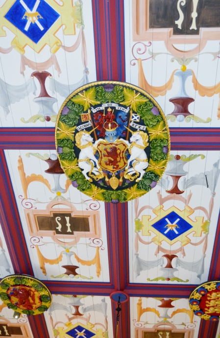 Décor in the castle.