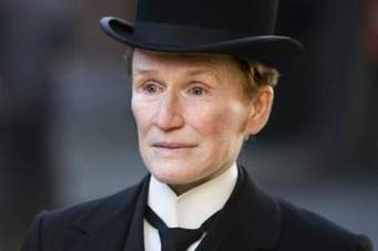 Glen Close as Albert Nobbs.